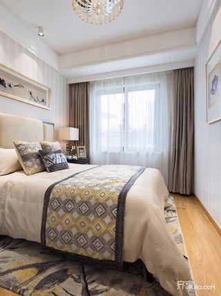 130平现代风格四居卧室装修效果图