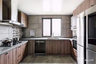 现代北欧风三居厨房装修设计效果图