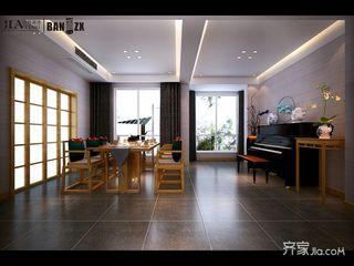 新中式风格大户型餐厅装修效果图