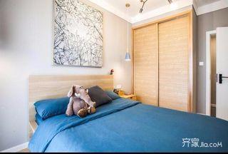 北欧风格两居室装修卧室设计图