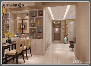 四居室新中式风格过道装修效果图