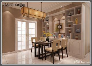 四居室新中式风格餐厅装修效果图