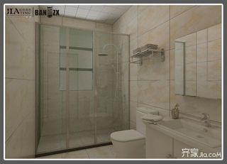 四居室新中式风格卫生间装修设计图