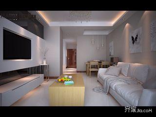两居室现代简约风格装修效果图