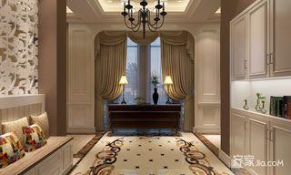 350㎡美式风格别墅玄关装修效果图