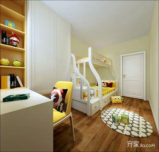 70㎡简约风格二居儿童房装修效果图