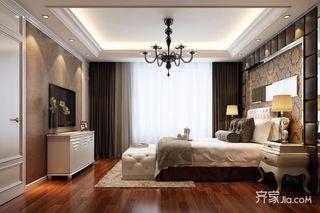 95㎡混搭风格三居卧室装修效果图