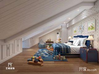 大户型美式复式装修儿童房效果图