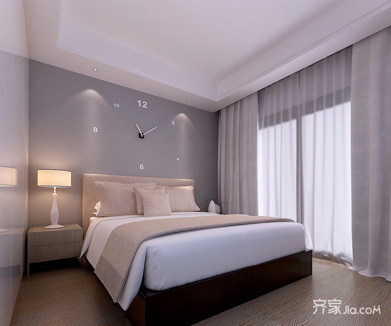 140平米简约复式卧室装修效果图