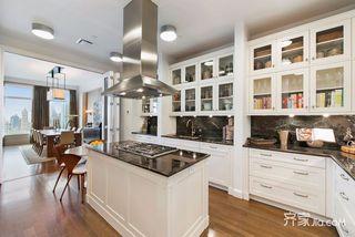 现代风格大户型厨房装修效果图