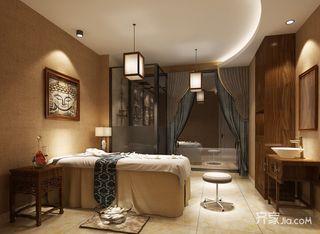 美容养生会所spa室装修效果图