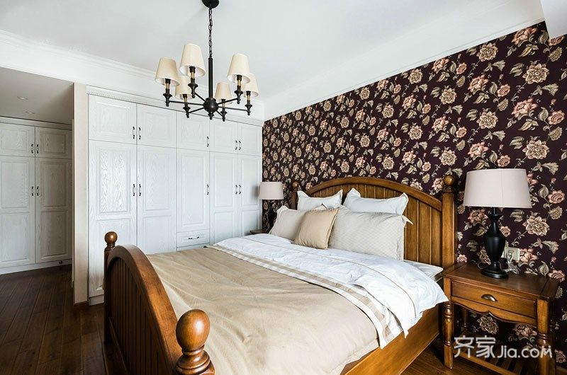 美式风格两居装修设计效果图