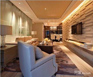 现代简约四房装修设计效果图