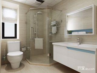 三居室北欧风格卫生间装修效果图