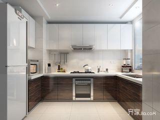 混搭风格样板房厨房装修效果图