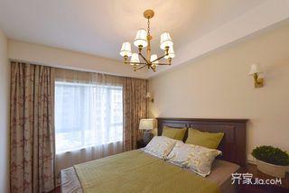 大户型美式装修卧室搭配图