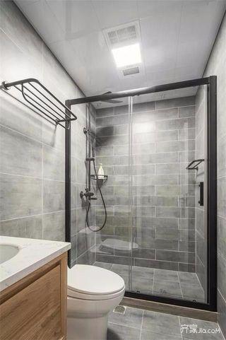 130㎡简约三居卫生间装修设计效果图