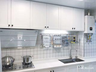120平三居北欧风格厨房装修效果图