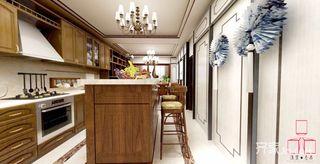 70平米新中式风格厨房装修效果图