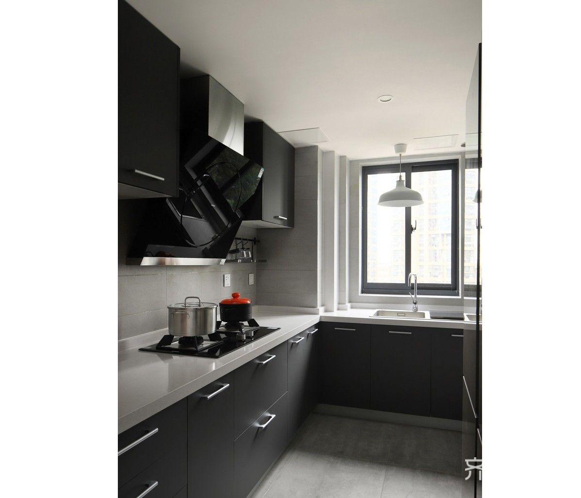 北欧风格三居室装修厨房布局图