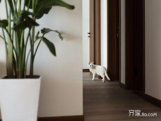 120㎡日式三居装修走廊图片