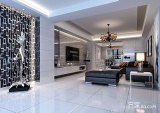 100平现代风格二居装修效果图