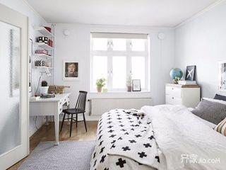 89平米简约三居室装修设计图
