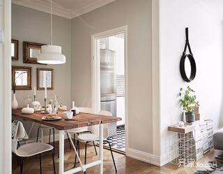 北欧宜家风二居装修餐桌设计图