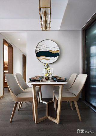 现代中式风格二居餐厅装修效果图
