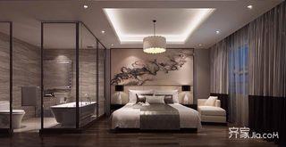 140平新中式风格卧室装修效果图