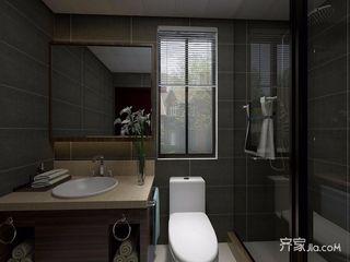 140平新中式风格卫生间装修效果图