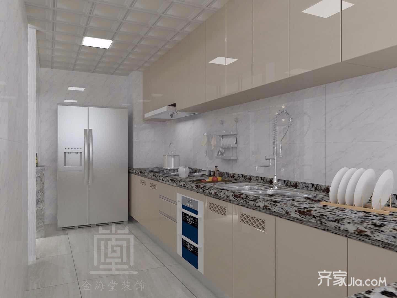 128平米简约风格厨房装修效果图