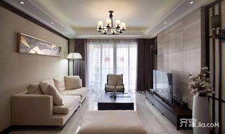 新中式风格三居装修设计图