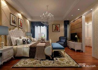 120平米欧式风格卧室装修效果图