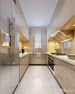 138平米简约风格厨房装修效果图