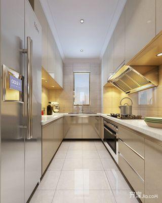 100平米现代风格厨房装修效果图