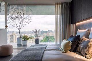 大户型高级灰空间装修卧室设计图
