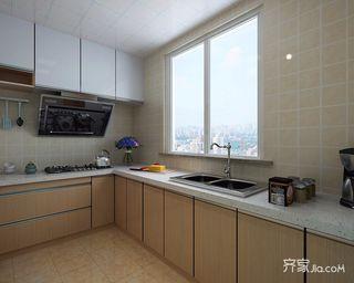 300平新中式风格厨房装修效果图