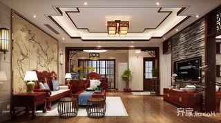 中式风格别墅装修效果图