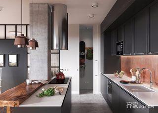 96平北欧宜家风格装修厨房一角