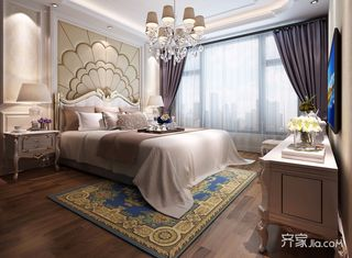 奢华欧式风格四房卧室装修效果图