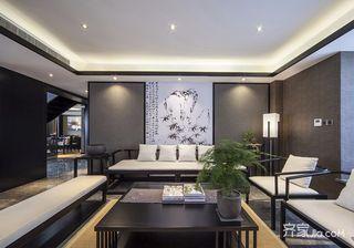 新中式风格别墅装修客厅效果图
