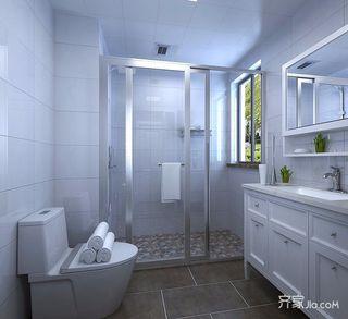 90平现代简约两居卫生间装修效果图