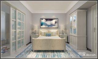 复式简美风格二居卧室装修效果图