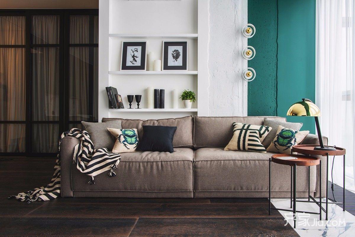 一居室小户型混搭风装修沙发效果图