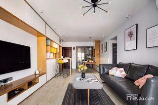140平北欧风格四房装修设计图