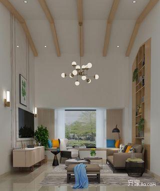 宜家风格别墅客厅装修效果图