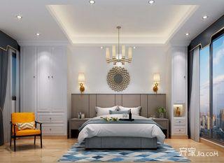 宜家风格别墅卧室装修效果图