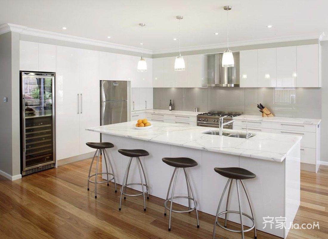 宜家风格别墅厨房装修效果图