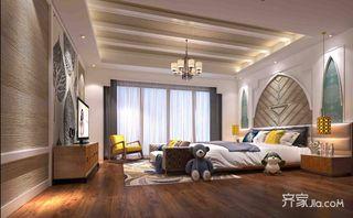 东南亚风格别墅儿童房装修设计效果图